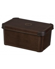 Pudełko plastikowe Deco M Leather 29,5x19,5x13,5