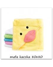 Kocyk po kąpieli 80x80 żółta kaczuszka w sklepie Dedekor.pl