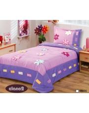 Różowo-fioletowa narzuta na łóżko dla dzieci 170x210+50x70 w sklepie Dedekor.pl