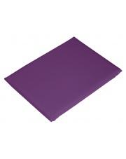 Ciemno-fioletowe prześcieradło satynowe Carlo Macci 160x200 w sklepie Dedekor.pl