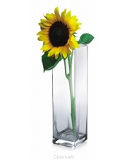 Geometryczny wazon szklany kwadrat w sklepie Dedekor.pl