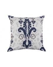 Kwadratowa poduszka Niebieski Ornament 40x40 bawełna w sklepie Dedekor.pl