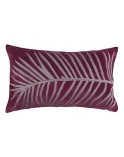 Podłużna poduszka ozdobna Silver Feather 30x50 fiolet w sklepie Dedekor.pl