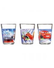 Komplet szklanek dla dzieci Cars 3szt. 160ml w sklepie Dedekor.pl