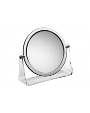 Okrągłe lusterko stojące Flavia 3x powiekszające