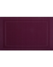 Mata stołowa PVC/PS wiśnia 30x45cm VELVET