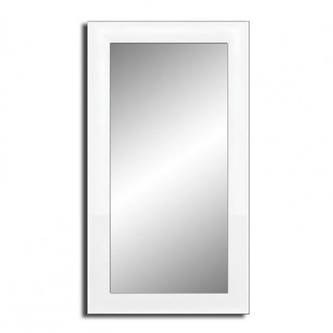Eleganckie Lustro w białej ramie 130x70 cm w sklepie Dedekor.pl