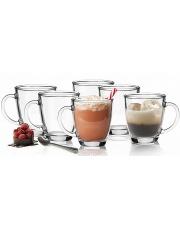Fantazyjne szklanki do latte, kawy, herbaty 6 szt. w sklepie Dedekor.pl
