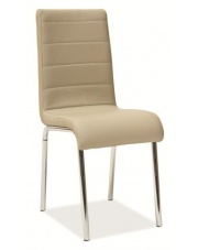 Nowoczesne krzesło H-400 beżowe