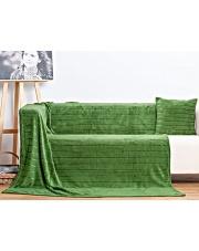 Ciepły zielony koc Dante