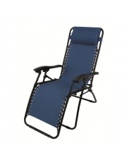 Luksusowy fotel RELAX niebieski w sklepie Dedekor.pl