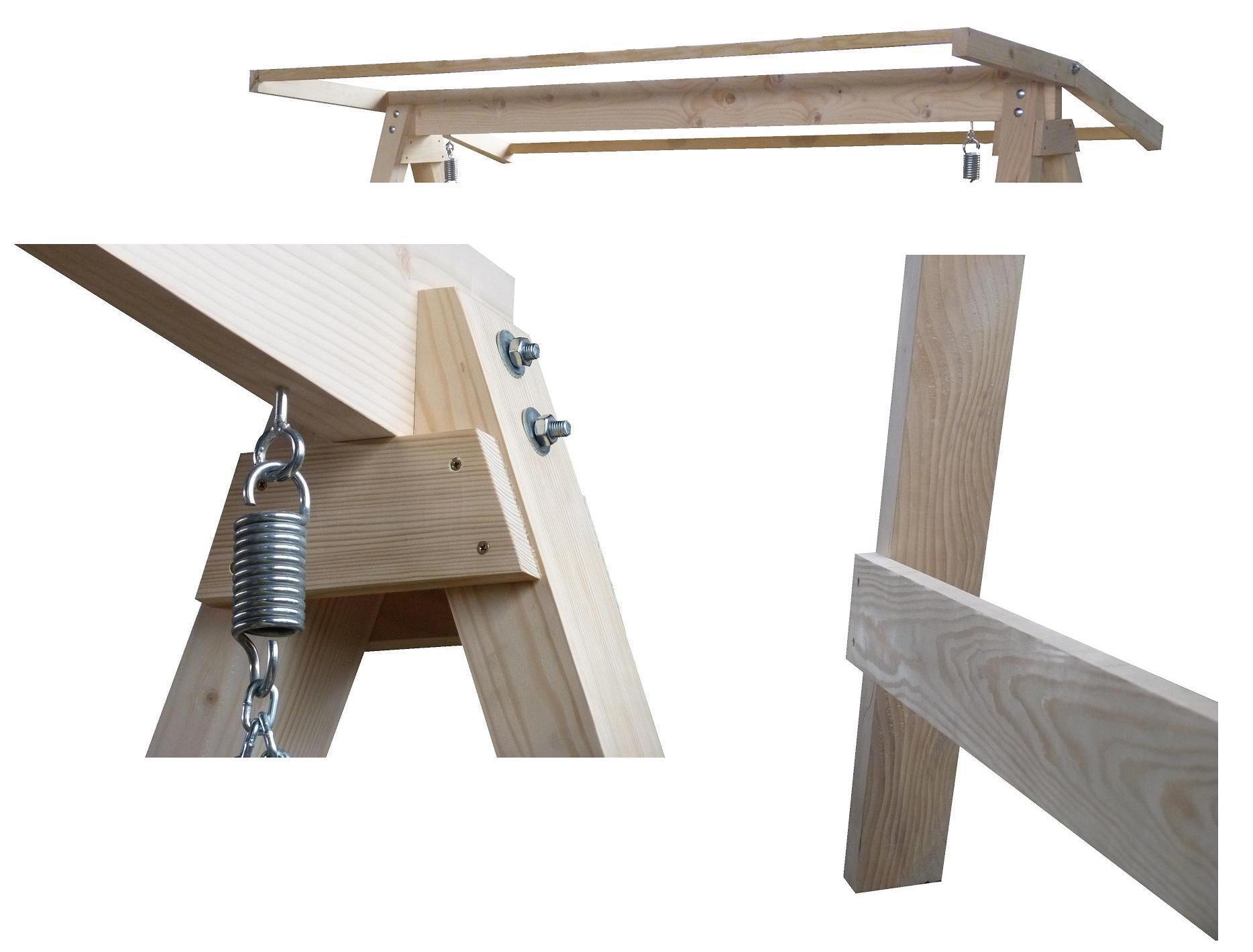 Hustawka Ogrodowa Drewniana Budowa : Huśtawka drewniana ogrodowa 4 osobowa  2 kolory , Ogród, Huśtawki