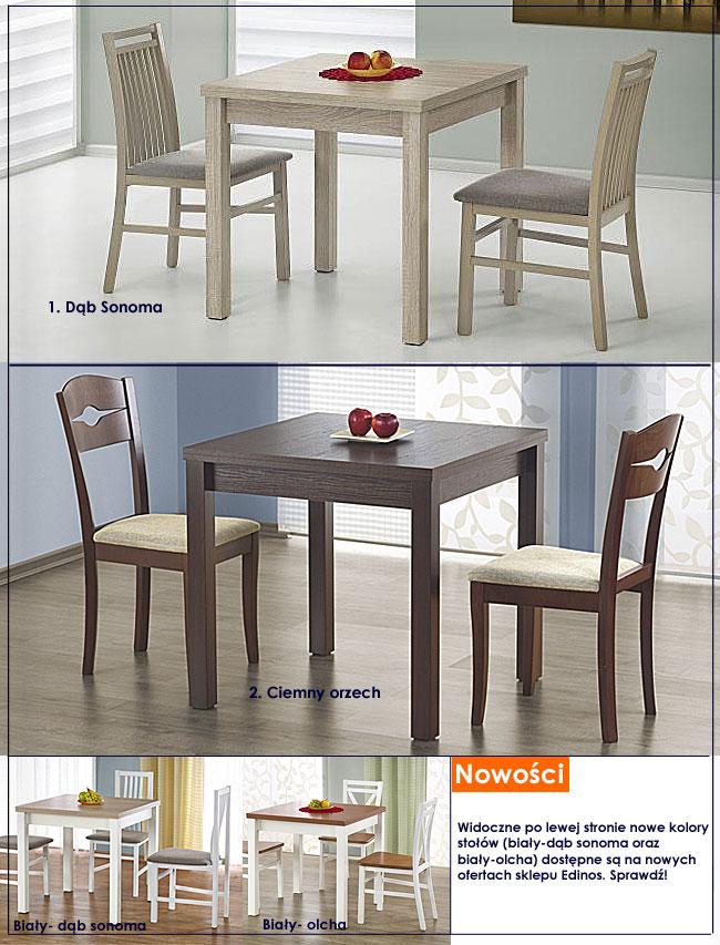 stół rozkładany kwadrat