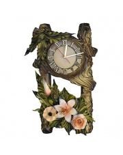 Zegar ścienny 14 ze/lilia w sklepie Dedekor.pl