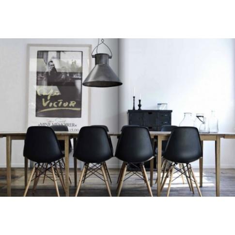 Nowoczesne krzesło - 2 kolory w sklepie Dedekor.pl