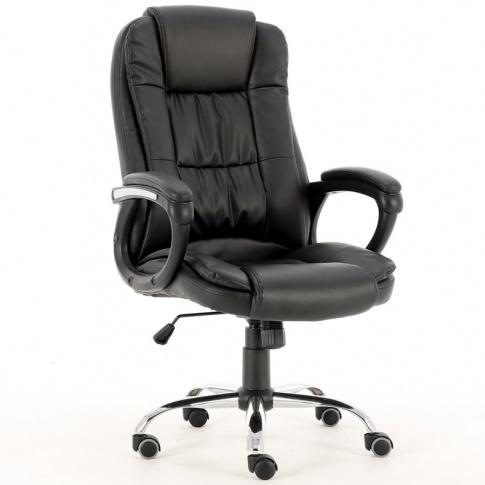 BRIAN fotel gabinetowy czarny w sklepie Dedekor.pl
