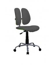 Krzesło z tkaniny membranowej FRODO popielate w sklepie Dedekor.pl