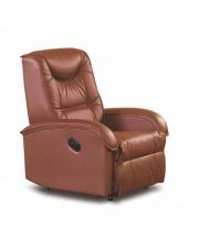 JEFF rewelacyjny fotel brązowy