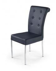 K176 kapitalne czarne krzesło