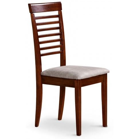 Modne krzesło drewniane K40 czereśnia antyczna , Meble ...