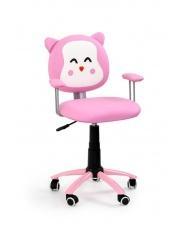 Fotel dla dziewczynki KITTY różowy w sklepie Dedekor.pl