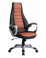 RAIDER fotel gabinetowy brązowo-czarny