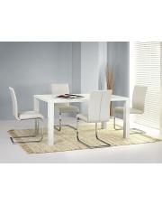 Duży rozkładany biały stół RONALD