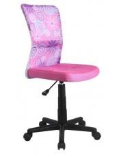 Fotel obrotowy DINGO różowy w sklepie Dedekor.pl