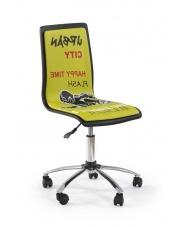 Krzesło do biurka FUN zielone w sklepie Dedekor.pl