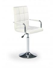 Fotel do biurka dla młodzieży GONZO białe