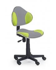 Krzesło na kółkach FLASH zielone