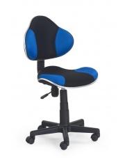 Fotel na kółkach FLASH niebieski w sklepie Dedekor.pl