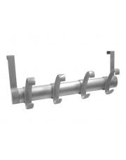 Wieszak aluminiowy- 4 haki