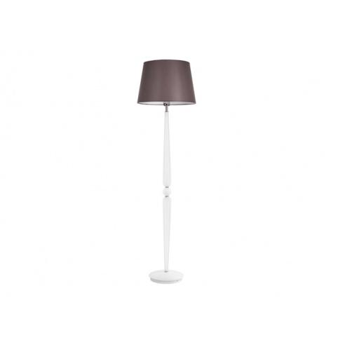 Srebrna Lampa Podłogowa Detroit