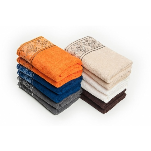 Ręcznik bawełniany Ottoman 50x90 cm kolory w sklepie Dedekor.pl