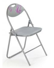 Krzesło dziecięce FOX szare