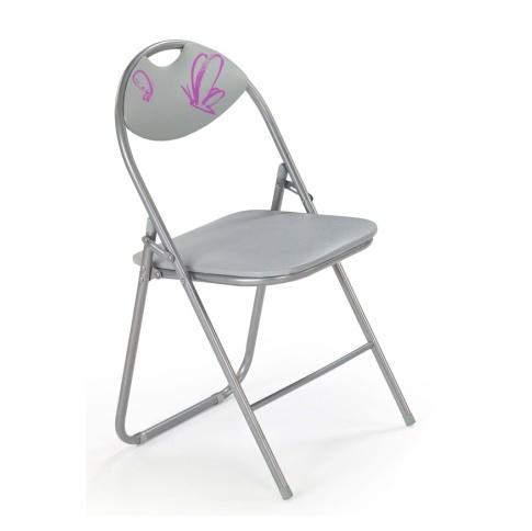 Krzesło dziecięce FOX szare w sklepie Dedekor.pl