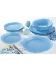 ARTY AZUR Serwis obiadowy niebieski 16 el OUTLET