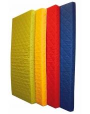 Żółty materac piankowy MEDIOLAN - 191x91x10 cm