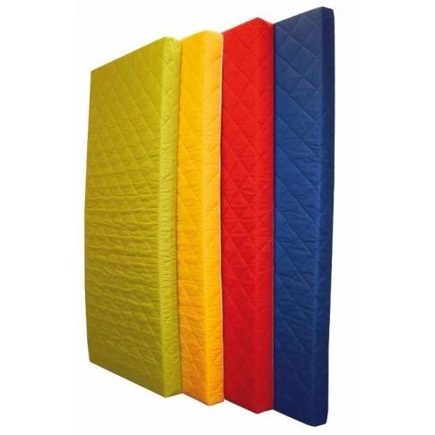 Żółty materac piankowy MEDIOLAN - 191x91x10 cm w sklepie Dedekor.pl