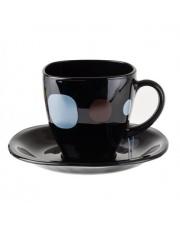 KYOKO Serwis kawowy LUMINARC czarny 220ml w sklepie Dedekor.pl
