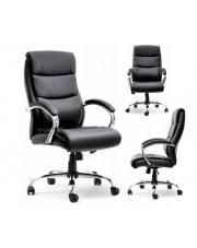 Fotel gabinetowy AJAX czarny