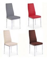 Krzesło metalowe Duken - 6 kolorów w sklepie Dedekor.pl