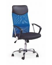Niebieski fotel do pracy VIRE