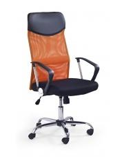 Wygodny fotel pracowniczy VIRE pomarańcz