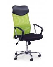 Zielony fotel pracowniczy VIRE