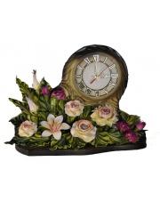 Zegar kominkowy piękne kwiaty 15ZE w sklepie Dedekor.pl