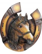 Ręcznie wykonana podkowa z głową konia w sklepie Dedekor.pl