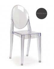 Krzesło przezroczyste Aleno
