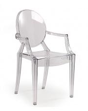 Krzesło bezbarwne Dinos